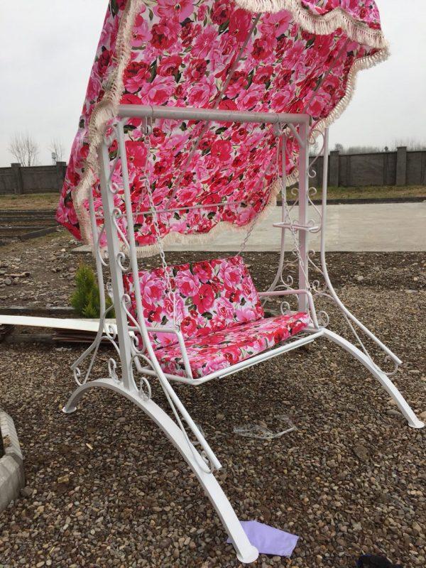باغی تاب فلزی تاب ویلایی تاب آهنی 3 600x800 - تاب باغی مدل ایفل کد1