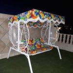 باغی تاب ویلایی تاب آهنی حیاطی 1 150x150 - تاب باغی مدل گلبرگ یا ماهواره کد2