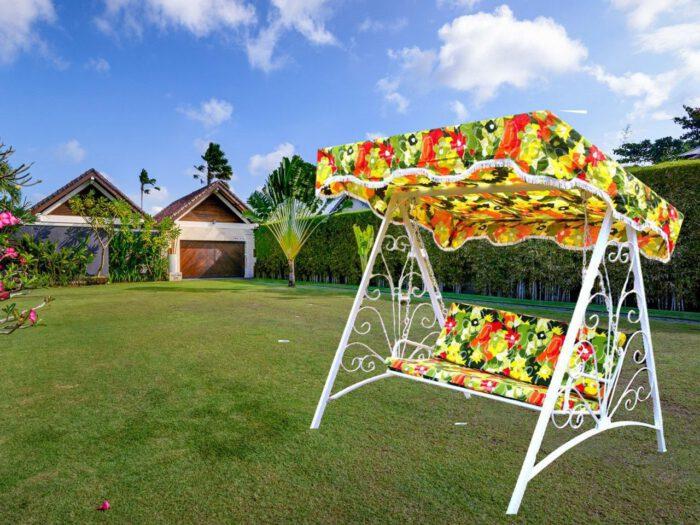 باغی فلزی ویلایی 1 700x525 - تاب باغی فلزی مدل مایا کد4