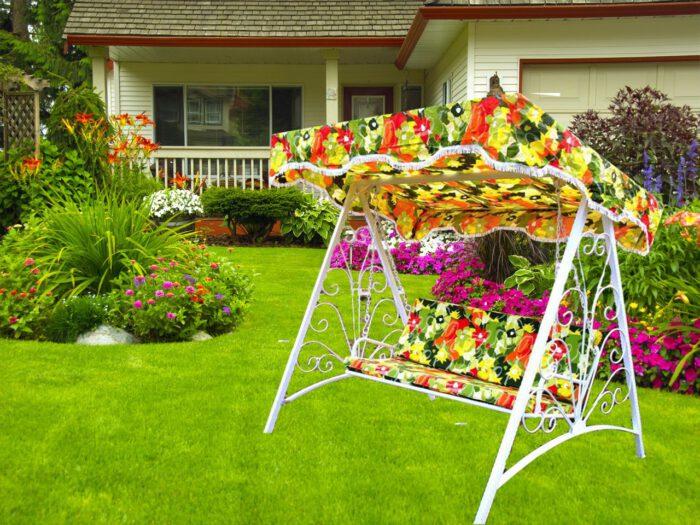 باغی فلزی ویلایی 2 700x525 - تاب باغی فلزی مدل مایا کد4