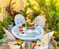 صندلی و میز طاووسی چکاوک