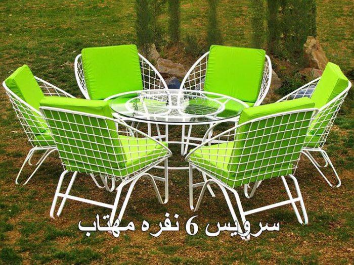 باغی مبلمان حیاطی مبلمان ویلایی 2 700x525 - مبلمان باغی ویلایی مدل مهتاب کد7