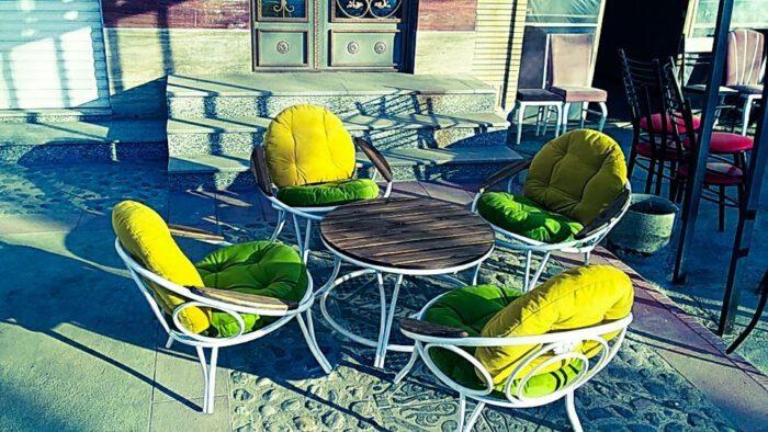 باغی مبلمان ویلایی مبلمان فضای باز حیاطی 25 700x394 - مبلمان باغی فلزی مدل ارغوان کد8