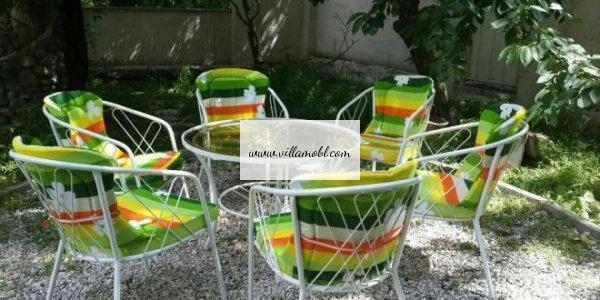 باغی 1 600x300 - مبلمان و میزصندلی باغی کد1