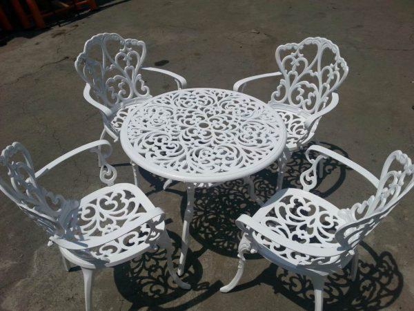 مبل باغی صندلی ویلایی مبلمان فضای باز (2)