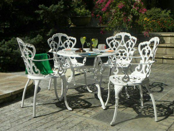 مبل باغی صندلی ویلایی مبلمان فضای باز (3)
