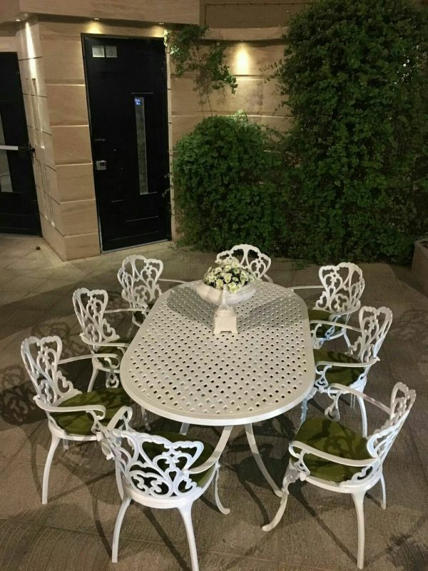 مبل باغی صندلی ویلایی مبلمان فضای باز (8)