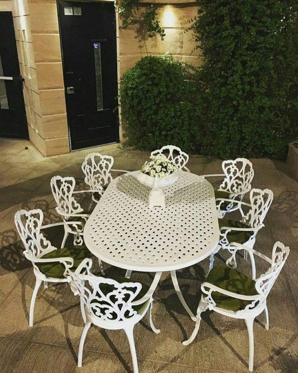 مبل باغی صندلی ویلایی مبلمان فضای باز (9)