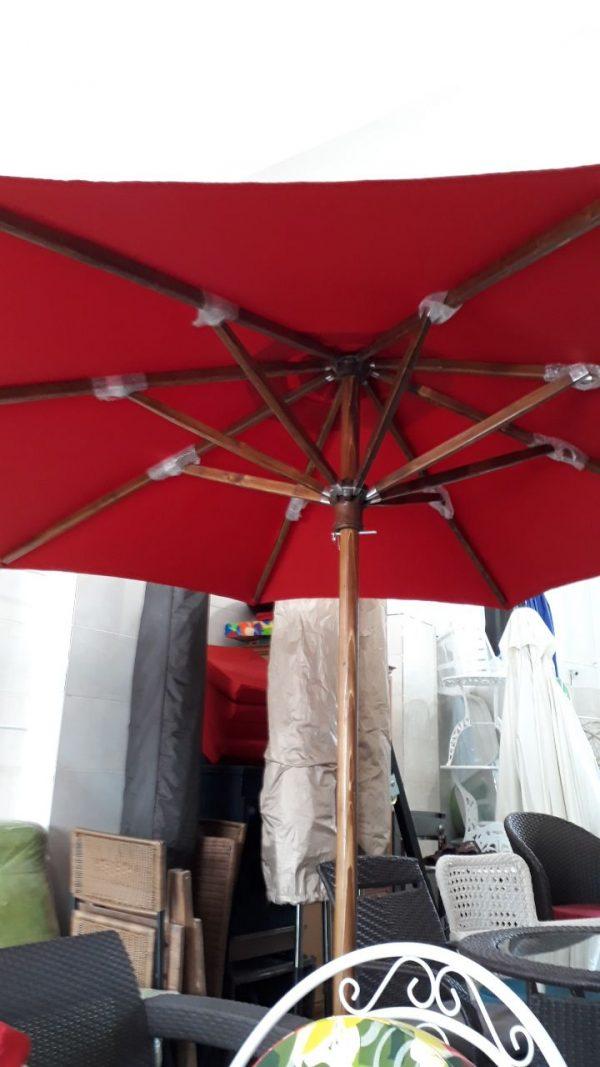 چتر ویلایی چتر باغی چوبی