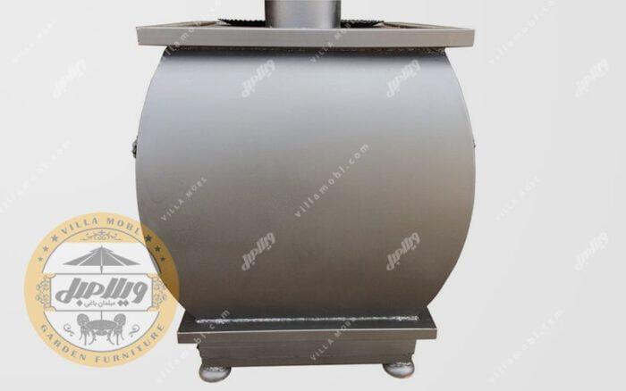 مشخصات بخاری هیزمی مدل پارسا
