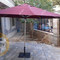 قیمت چتر باغی سایبان قطر چهار متری استیل