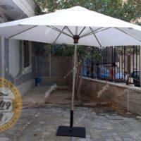 جنس چتر باغی سایبان قطر چهار متری استیل
