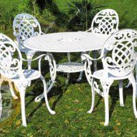 میز و صندلی باغی تاج
