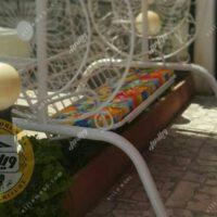 تاب باغی و تاب حیاطی مدل گلبرگ سه نفره