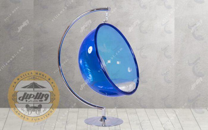 صندلی شیشه ای ریلکسی