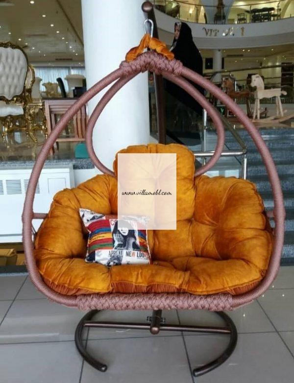 صندلی ریلکسی صندلی تابی تاب آویز 600x782 - تاب ریلکسی نیومونیخ 1 و 2 نفره