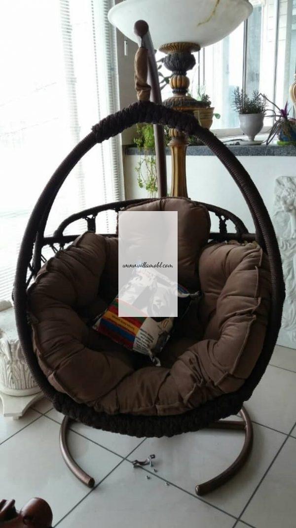 ریلکسی صندلی ریلکسی ، صندلی تابی تاب آویز 600x1068 - تاب ریلکسی نیومونیخ 1 و 2 نفره