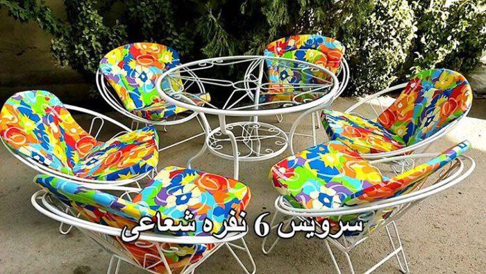 ویلایی مبلمان حیاطی میزوصندلی باغ 2 700x394 - مبلمان باغی و ویلایی مدل شعاعی