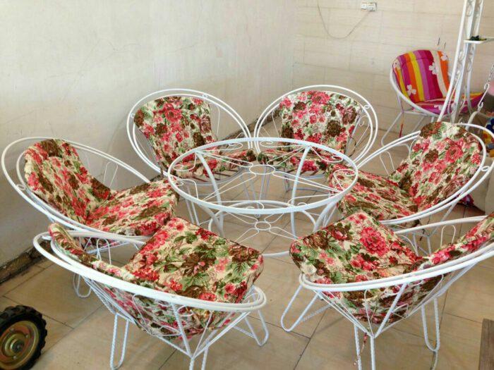 ویلایی مبلمان حیاطی میزوصندلی باغ 3 700x525 - مبلمان باغی و ویلایی مدل شعاعی