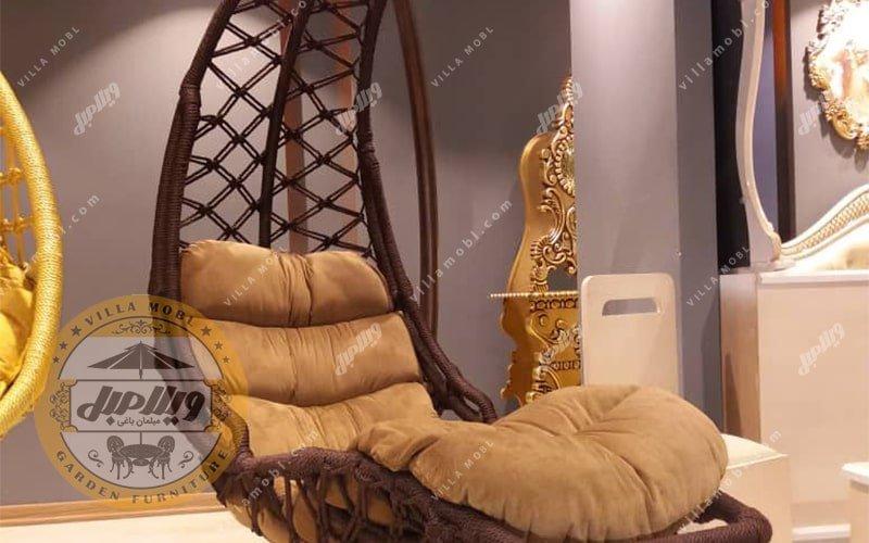 صندلی آویزی مدل تختی