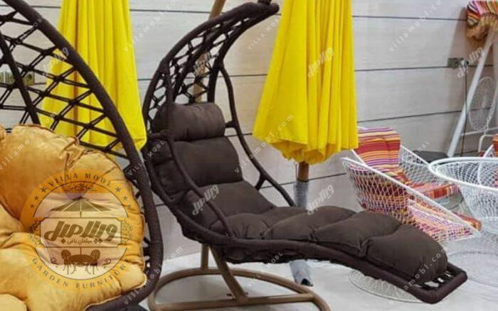 قیمت صندلی آویزی مدل تختی یک نفره
