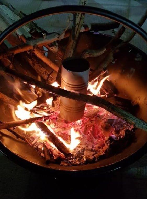 آتشدان هیزمی آتشکده هیزم سوز منقل و باربیکیو چوب سوز (11)