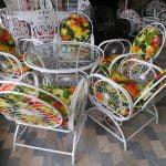 باغی مبلمان فلزی مبلمان حیاطی مبلمان ویلایی 16 150x150 - مبلمان باغی فلزی مدل خورشیدی کد5