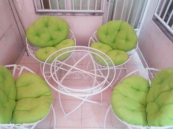 ویلایی میزوصندلی باغی مبل حیاطی تراسی 5 600x450 - مبلمان باغی ویلایی مدل الماس کد6
