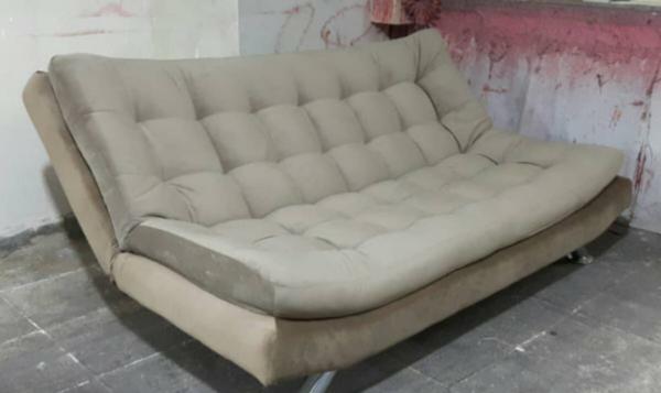 تختخوابشو مبل تختشو مبلمان راحتی تاشو 2 600x357 - کاناپه تختخوابشو دونفره بدون دسته مدل ایپک