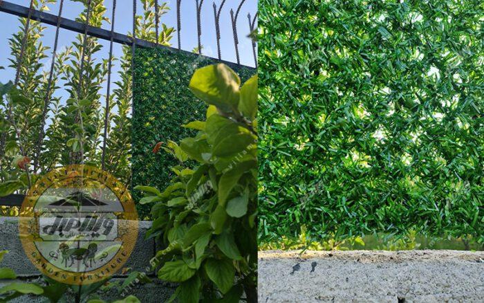 فنس چمنی و دیواره سبز چشمه ۵ سانتی متری