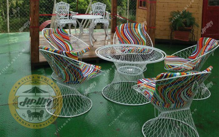 مبلمان باغی مدل بامبو