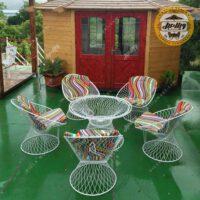 مبل باغی ویلایی مدل بامبو
