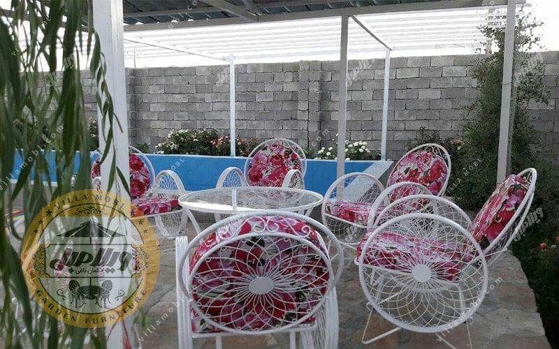مبلمان باغی ویلایی گلبرگ
