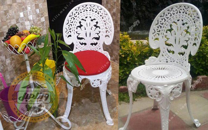 مشخصات صندلی طاووسی یا چکاوک آلومینیومی
