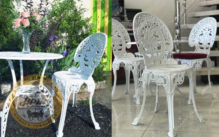 تصاویر صندلی طاووسی یا چکاوک آلومینیومی