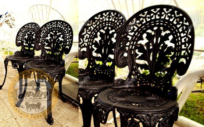 نمایشگاه صندلی طاووسی یا چکاوک آلومینیومی