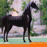 و منقل و کبابپز طرح حیوان 11 150x150 - باربیکیو کارن مدل اسب