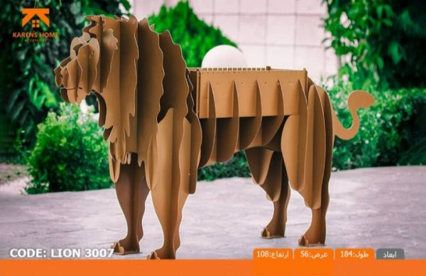 و منقل و کبابپز طرح حیوان 12 600x388 - باربیکیو کارن مدل شیر