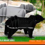 و منقل و کبابپز طرح حیوان 13 150x150 - باربیکیو کارن مدل خرس بزرگ