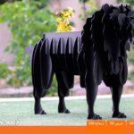 و منقل و کبابپز طرح حیوان 14 150x150 - باربیکیو کارن مدل شیر
