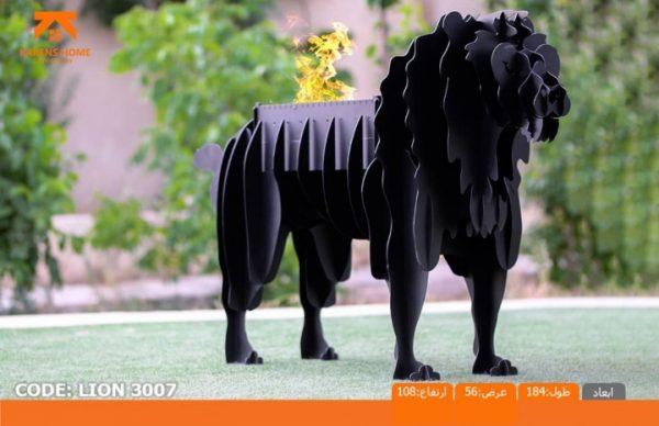 و منقل و کبابپز طرح حیوان 14 600x388 - باربیکیو کارن مدل شیر