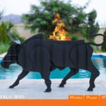 و منقل و کبابپز طرح حیوان 2 150x150 - باربیکیو کارن مدل بافالو