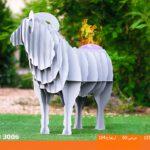 و منقل و کبابپز طرح حیوان 3 150x150 - باربیکیو کارن مدل قوچ