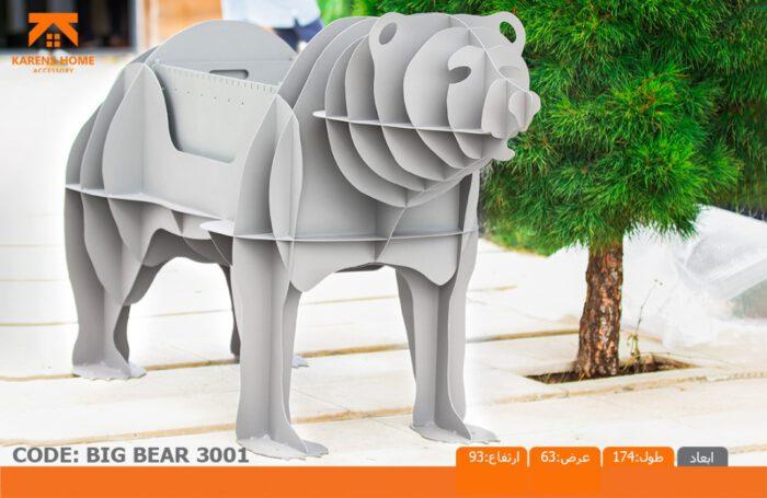 و منقل و کبابپز طرح حیوان 4 700x455 - باربیکیو کارن مدل خرس بزرگ