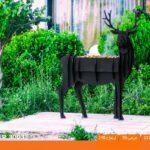 و منقل و کبابپز طرح حیوان 6 150x150 - باربیکیو کارن مدل گوزن