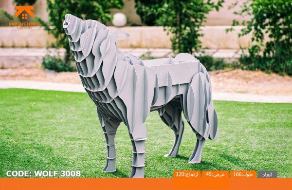 و منقل و کبابپز طرح حیوان 8 600x390 - باربیکیو کارن مدل گرگ