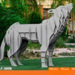 و منقل و کبابپز طرح حیوان 9 150x150 - باربیکیو کارن مدل گرگ