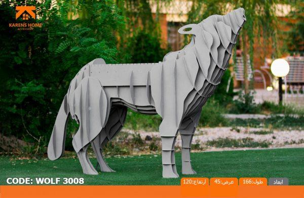 و منقل و کبابپز طرح حیوان 9 600x390 - باربیکیو کارن مدل گرگ