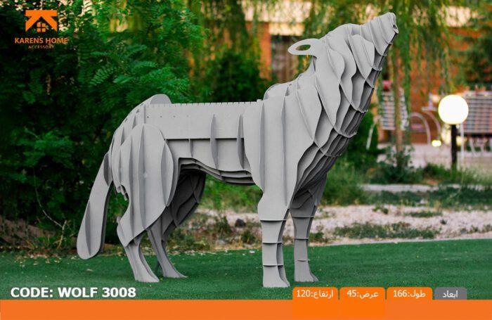و منقل و کبابپز طرح حیوان 9 700x455 - باربیکیو کارن مدل گرگ