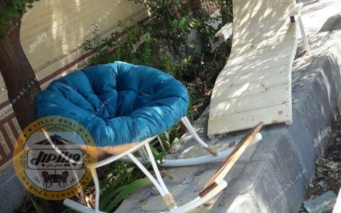 صندلی راک فلزی مدل ارغوان